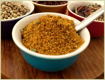 Homemade Indian curry powder