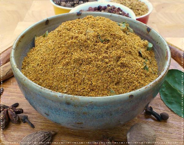 Mild curry powder recipe.