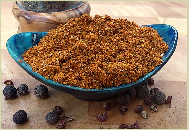 Picture of homemade African berbere