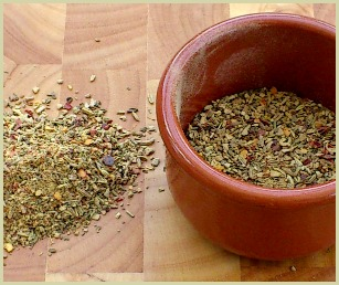 picture of homemade burger seasoning