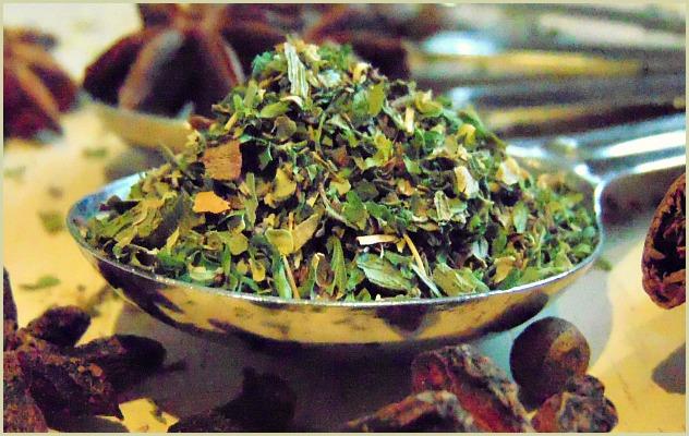 Homemade fine herbs