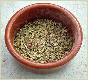 picture of homemade sausage spices