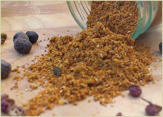 Homemade berbere spice