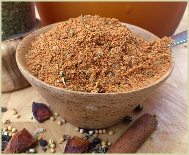 Picture of a homemade Creole seasoning